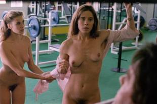Elizabeth Hurley nude topless Bridget Fonda, Valérie Allain and other's nude bush - Aria (1987) HD 1080p BluRay (8)