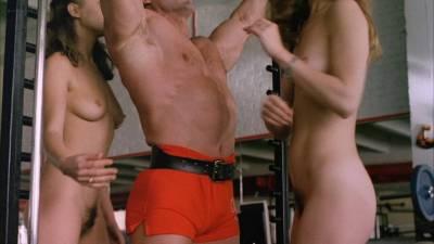 Elizabeth Hurley nude topless Bridget Fonda, Valérie Allain and other's nude bush - Aria (1987) HD 1080p BluRay (7)