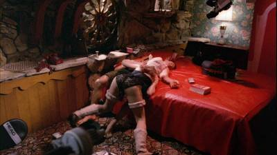 Elizabeth Hurley nude topless Bridget Fonda, Valérie Allain and other's nude bush - Aria (1987) HD 1080p BluRay (1)