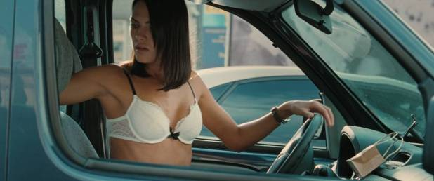 Leelee Sobieski hot and sexy sex in the car - Branded (2012) HD 720p BluRay (4)