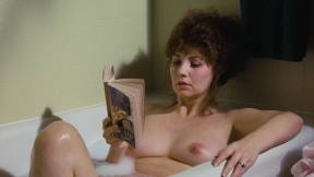 Linnea Quigley nude full frontal and Judy Tatum nude topless - Witchtrap (1989) HD 720p (7)