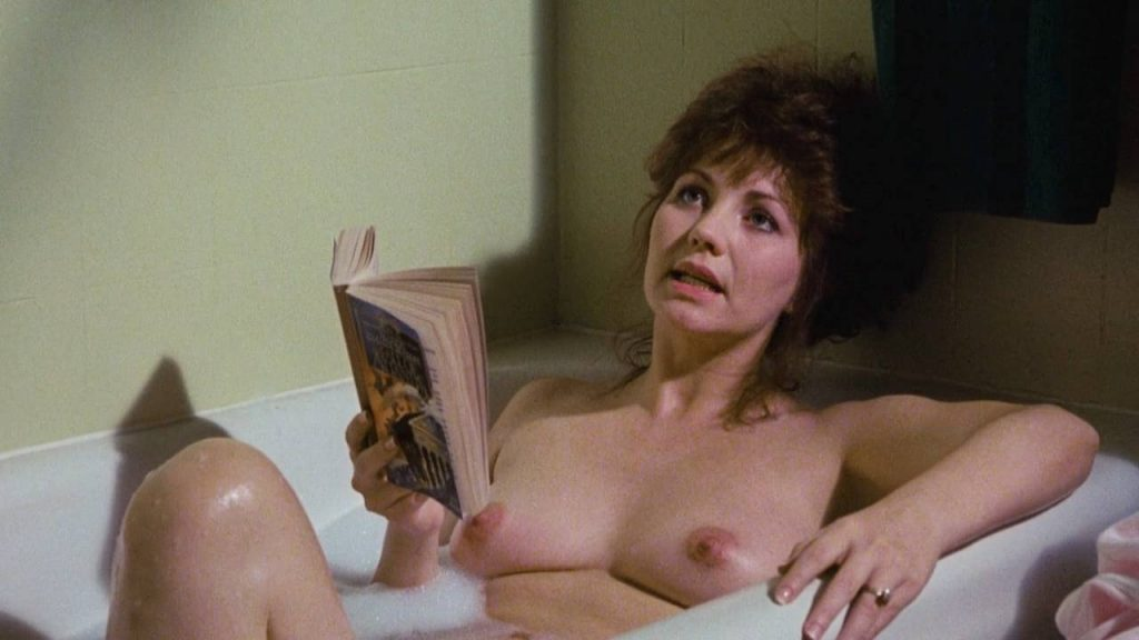 Linnea Quigley nude full frontal and Judy Tatum nude topless - Witchtrap (1989) HD 720p (6)