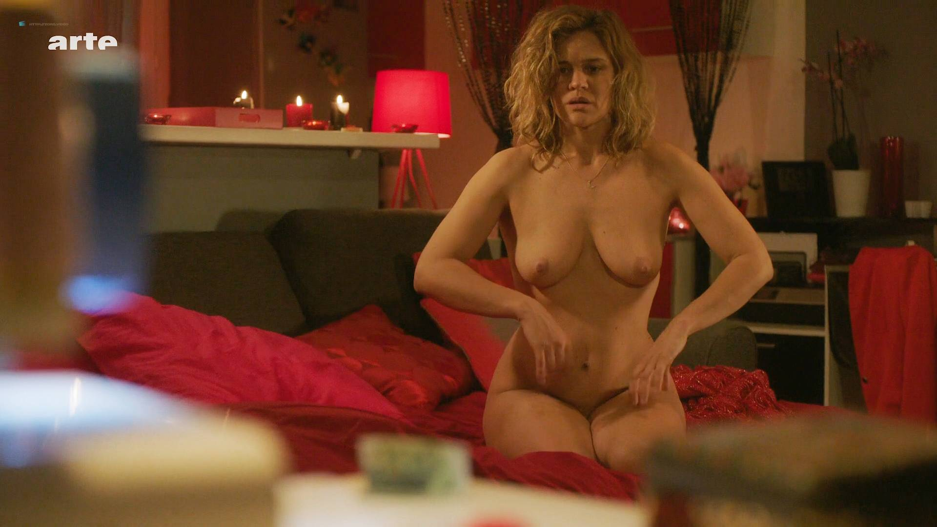 Marie Denarnaud Nude Topless And Butt And Romane Bohringer -6874