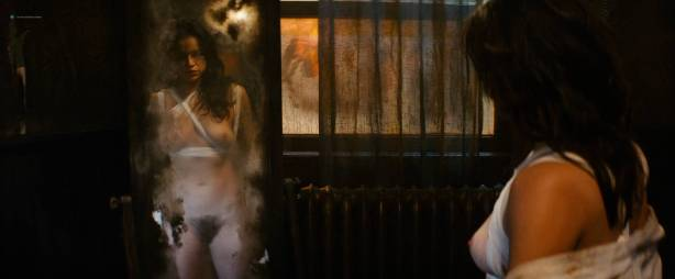 Michelle Rodriguez nude full frontal Caitlin Gerard nude and Lia Lam hot - The Assignment (2016) HD 1080p (2)