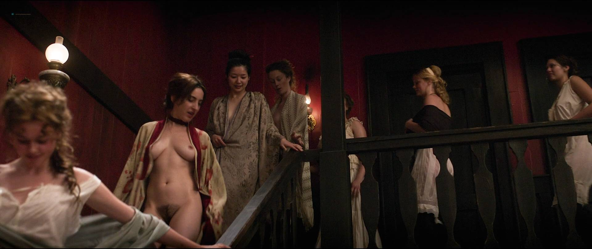 Dakota Fanning hot, Carla Juri, Vera Vitali others nude bush - Brimstone (2016) HD 1080p BluRay (13)
