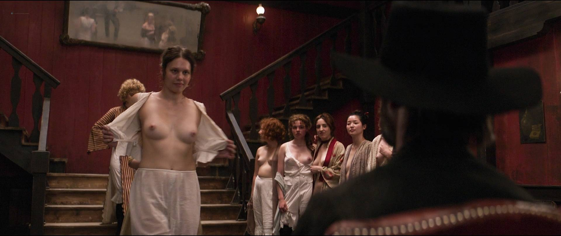 Dakota Fanning hot, Carla Juri, Vera Vitali others nude bush - Brimstone (2016) HD 1080p BluRay (11)