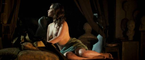 Emilia Clarke nude and sex - Voice from the Stone (2017) HD 1080p WEB (1)