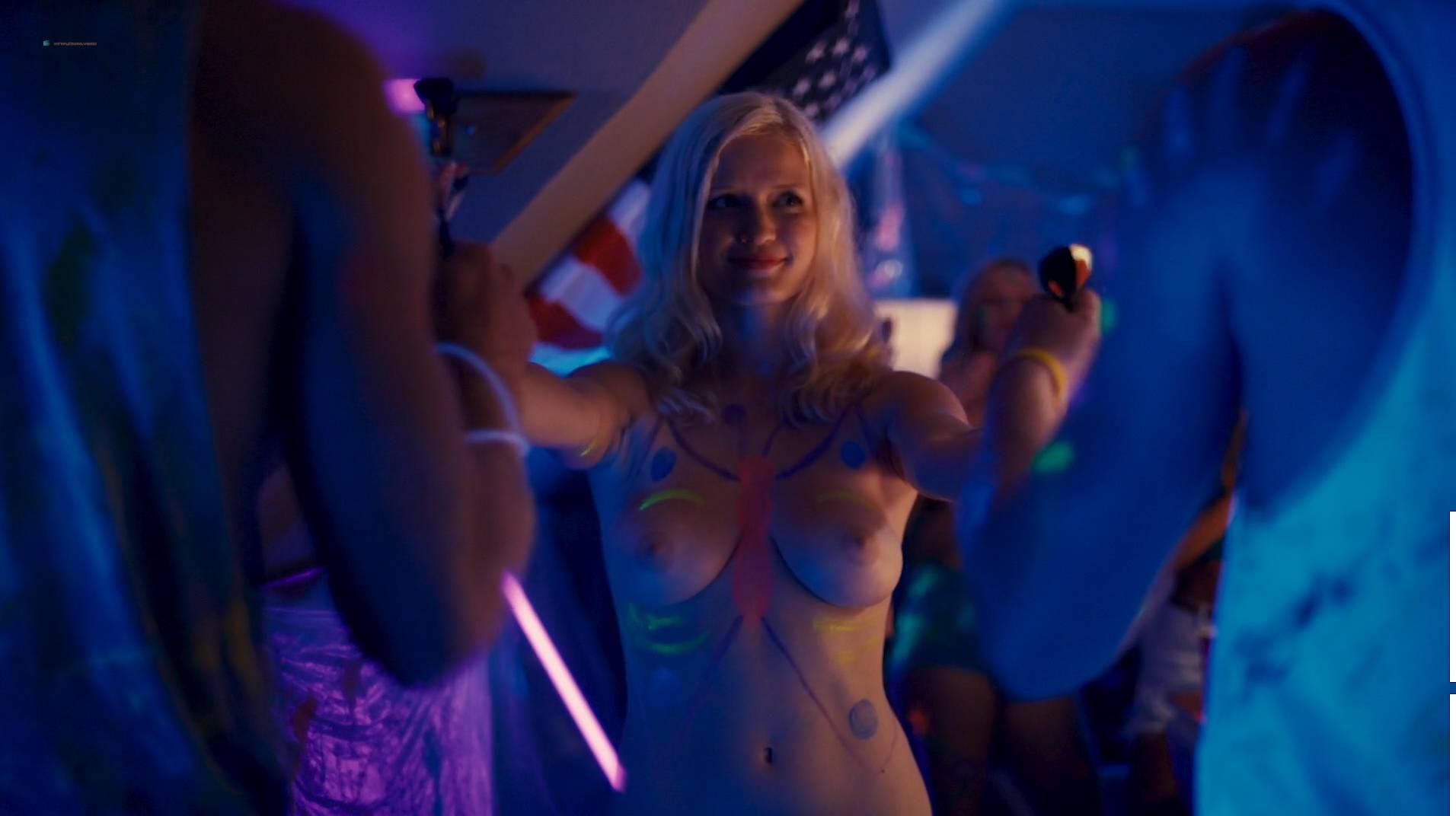 Jennifer Krukowski nude topless Aubrey Ferron and others all nude - Total Frat Movie (2016.) HD 1080p WEB (7)