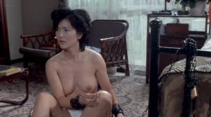Jun Izumi nude watersport and lot of sex - Woman with Pierced Nipples (JP-1983) (12)