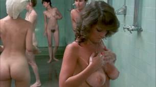 Linda Blair nude Linnea Quigley nude bush Suzee Slater and Rebecca Perle nude too - Savage Streets (1984) HD 1080p BluRay (9)