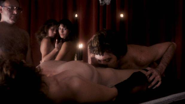 Vanessa Hidalgo nude bush sex, Helga Liné and other's nude too - Black Candles (1982) HD 1080p BluRay (7)
