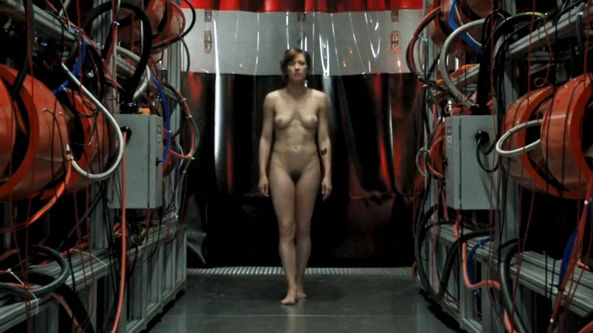 Carrie Coon nude full frontal and boobs - The Leftovers (2017) s3e8 HD 1080p (8)