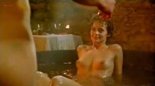 Izabella Scorupco nude butt, boobs and wet Erika Höghede and other's nude - Petri tårar (SW-1995)