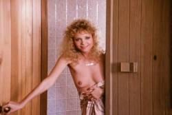 Kimberly McArthur nude topless Sybil Danning, Barbara Edwards other's nude too - Malibu Express (1985) (13)