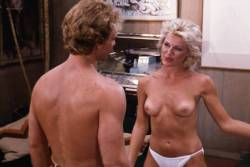 Kimberly McArthur nude topless Sybil Danning, Barbara Edwards other's nude too - Malibu Express (1985) (10)