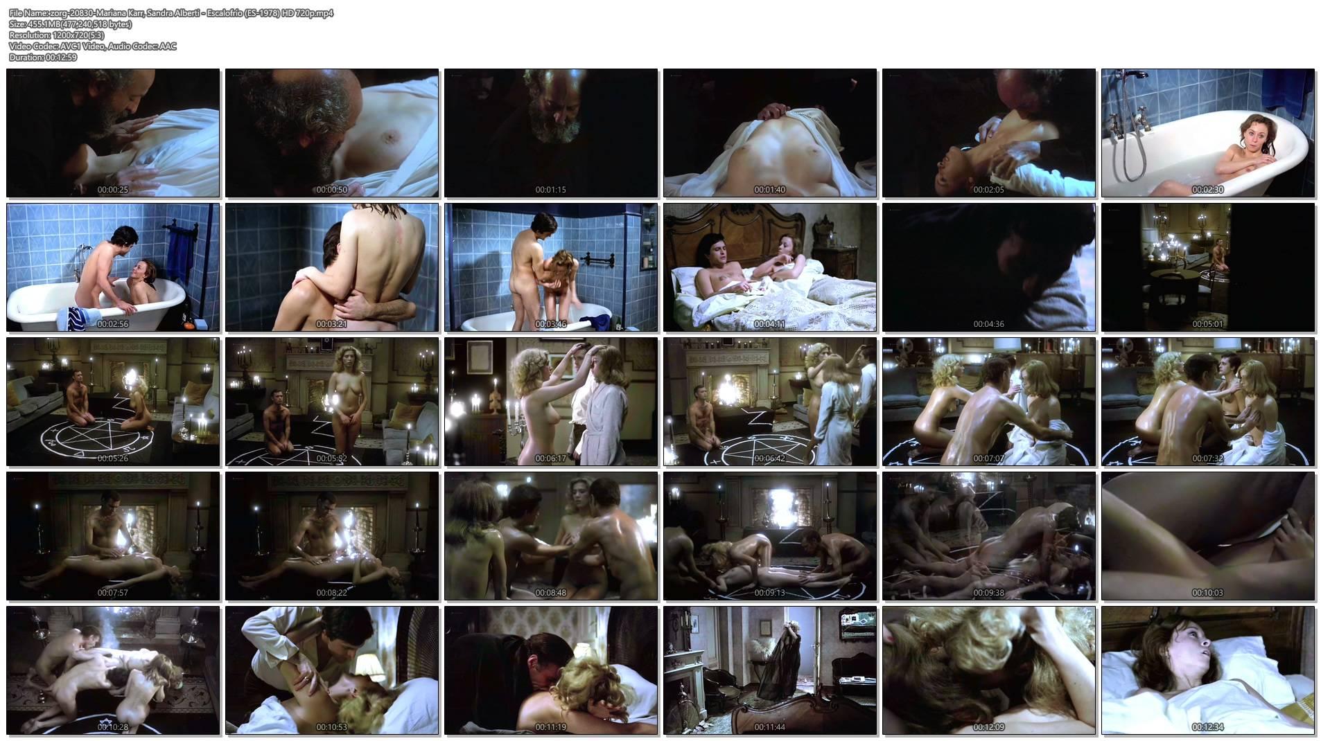 Mariana Karr nude full frontal Sandra Alberti nude sex - Escalofrío (ES-1978) HD 720p (1)