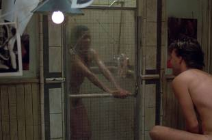 Irene Cara nude bush and boobs in the shower – Certain Fury (1985) HD 1080p BluRay