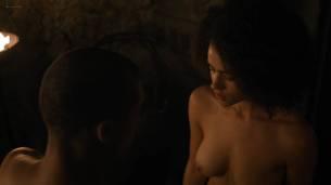 Nathalie Emmanuel nude topless and butt - GoT (2017) s7e2 HD 1080p Web (8)