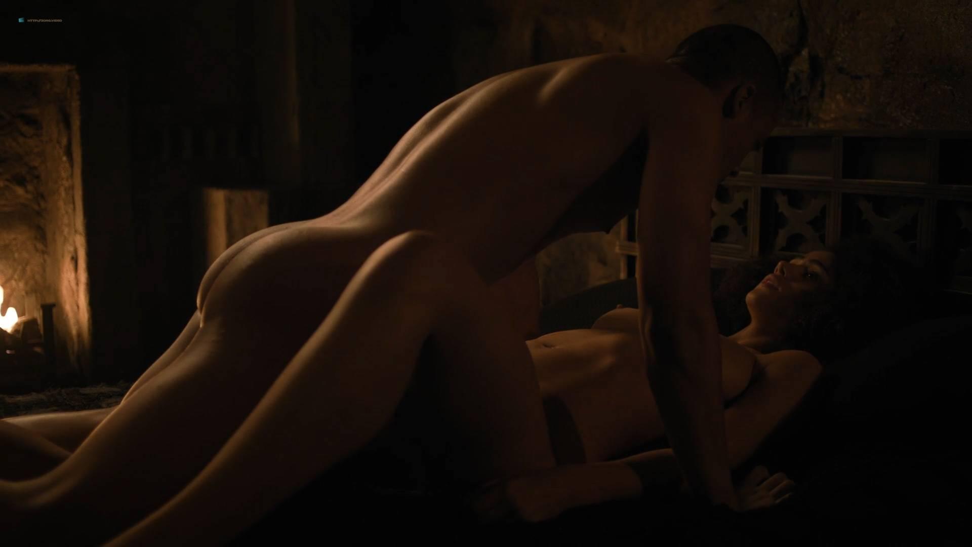 Nathalie Emmanuel nude topless and butt - GoT (2017) s7e2 HD 1080p Web (5)