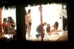 Sylvia Kristel nude bush and boobs - Naakt over de schutting (NL-1973) VHS (10)