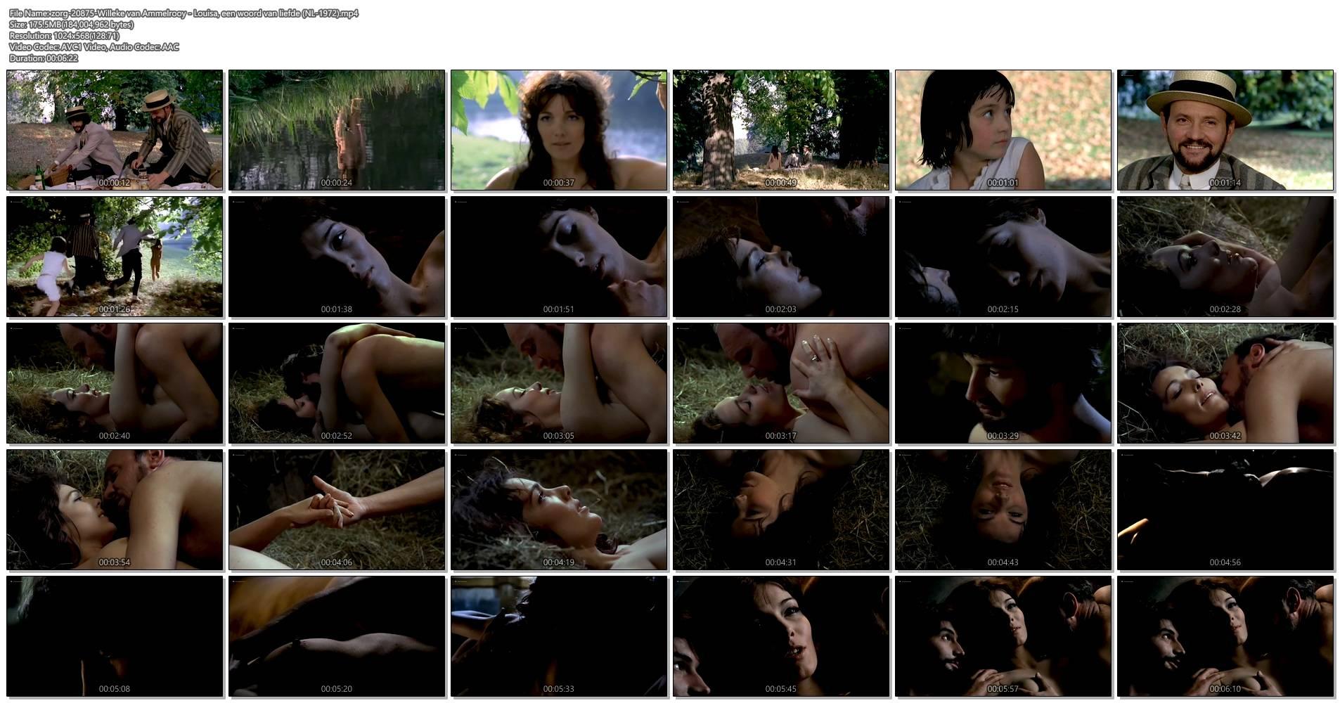 Willeke van Ammelrooy nude full frontal, butt - Louisa, een woord van liefde (NL-1972) (1)