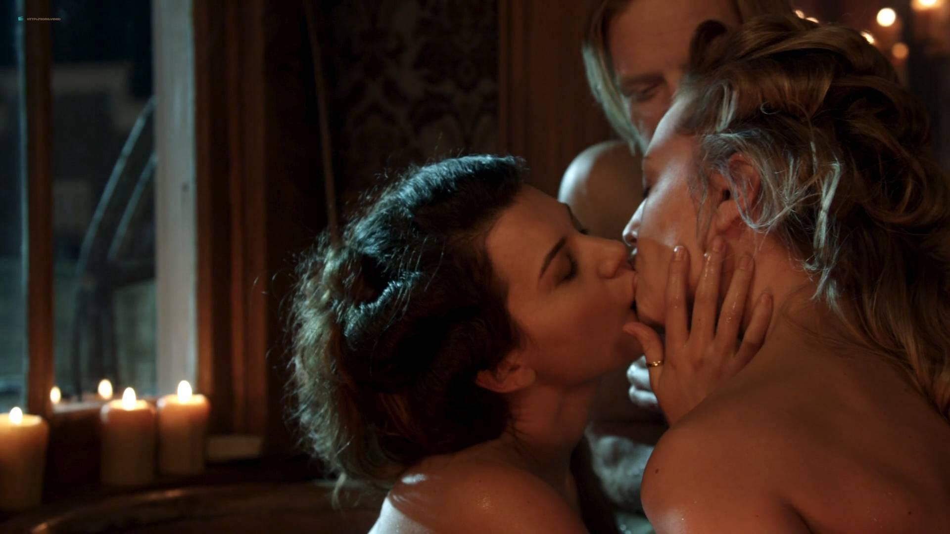 Elizabeth Lavender nude topless Elysia Rotaru nude butt boobs - Dead Again in Tombstone (2017) HD 1080p BluRay (4)