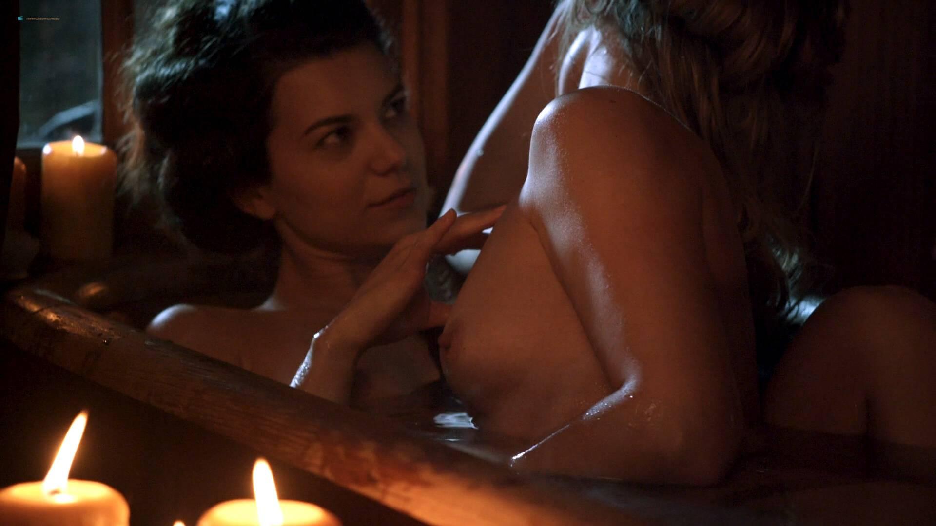 Elizabeth Lavender nude topless Elysia Rotaru nude butt boobs - Dead Again in Tombstone (2017) HD 1080p BluRay (3)