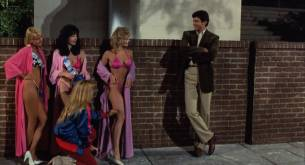 Michelle Pfeiffer nude butt Sue Bowser and other's nude topless - Into the Night (1985) HD 1080p BluRay (9)
