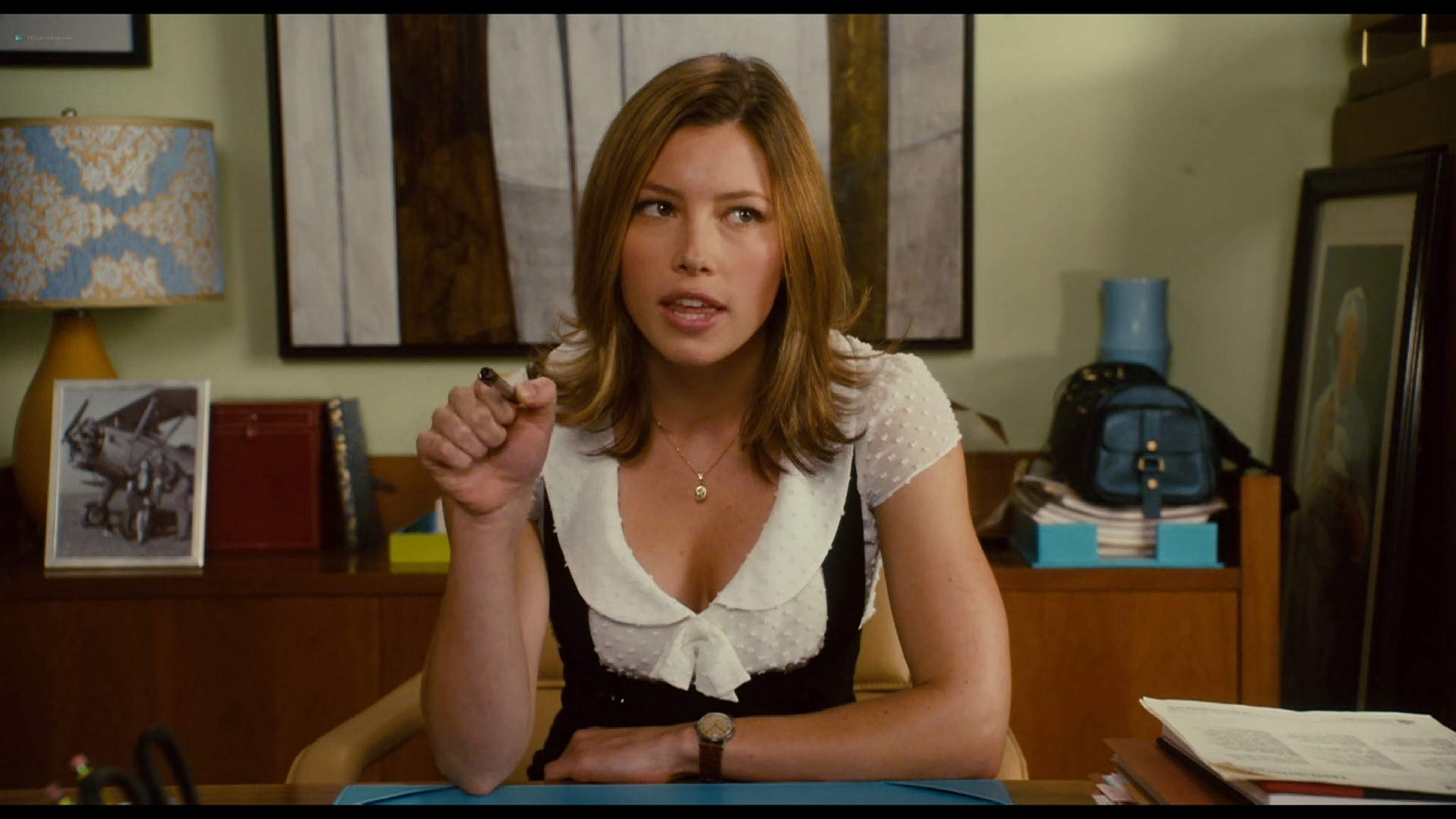 Jessica Biel hot sexy and Adam Sandler groping her boobs others sexy too - I Now Pronounce You Chuck & Larry (2007) HD 1080p BluRay (20)