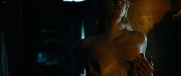 Jessica Madsen nude butt boobs and hot sex - Leatherface (2017) HD 1080p (10)