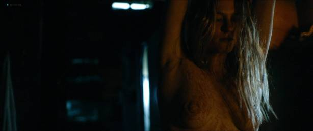 Jessica Madsen nude butt boobs and hot sex - Leatherface (2017) HD 1080p (3)