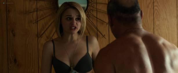 Nicole LaLiberte nude and hot sex Joey King nude covered and Helena Mattsson hot - Smartass (2017) HD 1080p (7)