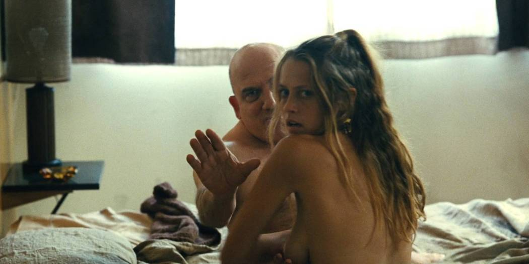Teresa Palmer nude side boob Sibongile Mlambo nude topless - Message from the King (2016) HD 1080p BluRay (15)