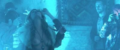 Teresa Palmer nude side boob Sibongile Mlambo nude topless - Message from the King (2016) HD 1080p BluRay (11)