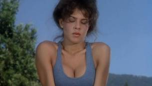 Teri Weigel nude topless Vickie Benson, Betsy Russell and other's hot and sexy - Cheerleader Camp (1988) (5)