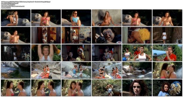 Teri Weigel nude topless Vickie Benson, Betsy Russell and other's hot and sexy - Cheerleader Camp (1988) (1)