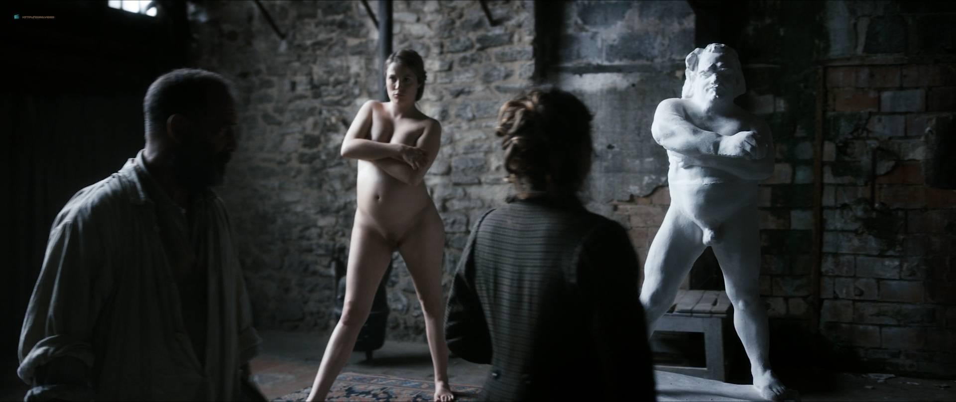 Izïa Higelin nude full frontal Magdalena Malina, Olivia Baes and other's nude bush - Rodin (FR-2017) HD 1080 BluRay (13)