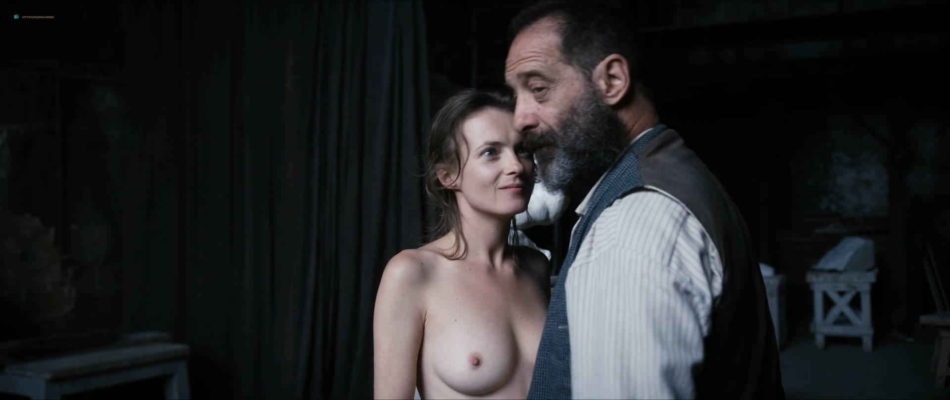 Izïa Higelin nude full frontal Magdalena Malina, Olivia Baes and other's nude bush - Rodin (FR-2017) HD 1080 BluRay (9)
