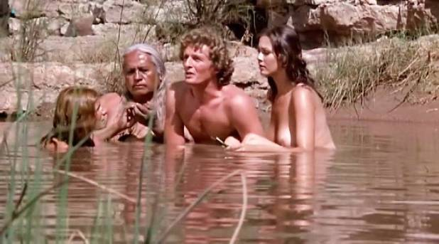 Lynda Carter nude topless and sex Belinda Balaski nude Merrie Lynn Ross hot - Bobbie Jo and the Outlaw (1976) (7)