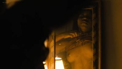 Natalie Paul nude topless Dominique Fishback and Larisa Polonsky nude sex - The Deuce (2017) s1e8 HD 1080p (13)