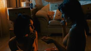 Noomi Rapace nude lesbian with Yasmine Garbi Lena Endre hot - The Girl Who Played With Fire (SE-2009) HD 1080p (8)