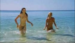 Olivia Pascal nude topless Ursula Buchfellner and Christine Zierl nude too - Cola Candy Chocolate (DE-1979) (6)