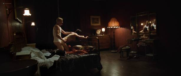 Rosamund Pike hot butt and sex Mia Wasikowska sex nipple, others topless - The Man with the Iron Heart (2017) HD 1080p (19)