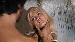 Victoria Vetri nude butt and topless - When Dinosaurs Ruled the Earth (1970) HD 1080p BluRay (8)