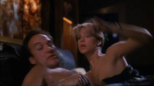 Loryn Locklin nude sideboob and hot in tong - Taking Care Of Business (1990) HD 1080p WEB 15