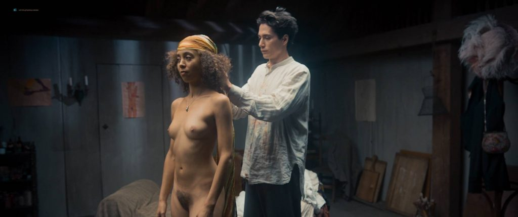 Maresi Riegner nude full frontal Larissa Breidbach nude bush Valerie Pachner nude - Egon Schiele: Tod und Mädchen (AT-2016) HD 1080p BluRay (11)