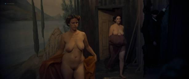 Maresi Riegner nude full frontal Larissa Breidbach nude bush Valerie Pachner nude - Egon Schiele: Tod und Mädchen (AT-2016) HD 1080p BluRay (7)