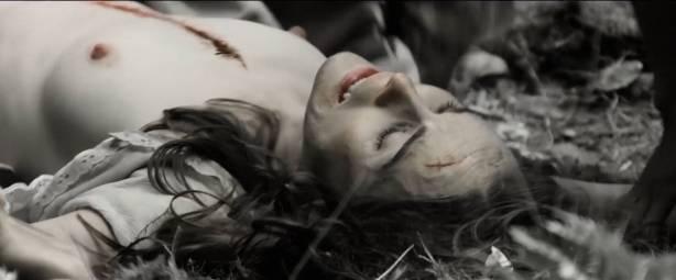 Michelle Dockery nude topless - Godless (2017) S1 HD 1080p Web (10)