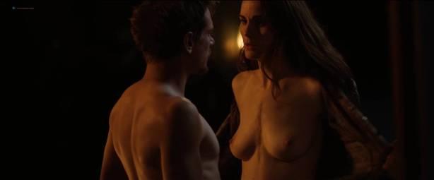 Michelle Dockery nude topless - Godless (2017) S1 HD 1080p Web (5)