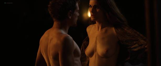 Michelle Dockery nude topless - Godless (2017) S1 HD 1080p Web (3)